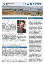 Newsletter 05 - Barlachstadt Güstrow