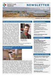 newsletter 02/2010 - Barlachstadt Güstrow