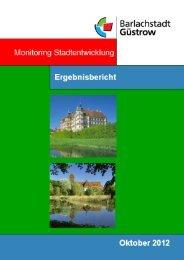 Ergebnisbericht-Güstrow 2012 - Barlachstadt Güstrow