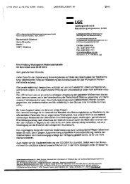 Anlage - Schreiben der LGE MV GmbH vom 17.08.2012