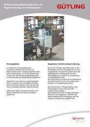 Kompaktanlage ReKrist - Gütling Wassertechnologie GmbH