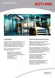 Chargenbehandlung - Gütling Wassertechnologie GmbH