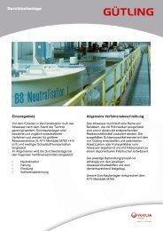 Durchlaufanlage - Gütling Wassertechnologie GmbH