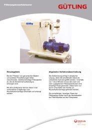 Filterpapierzerkleinerer - Gütling Wassertechnologie GmbH
