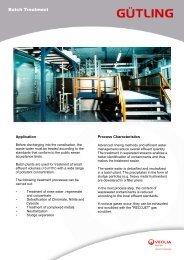 Batch Treatment-E - Gütling Wassertechnologie GmbH
