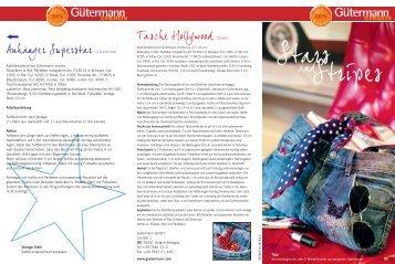 Arbeitsmaterial von Gütermann creativ Allesnäher in Rot, Pailletten ...