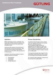 Continous Treatment - Gütling Wassertechnologie GmbH