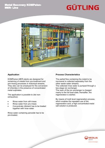 KOMPaion MER-Line - Gütling Wassertechnologie GmbH
