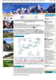 Schweizer Alpenpanorama-Route - Sackmann Fahrradreisen