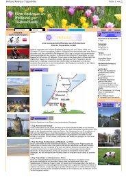 Eine Radreise in Holland zur Tulpenblüte - Sackmann Fahrradreisen