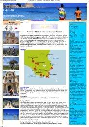 Radreisen auf Sizilien - ei...