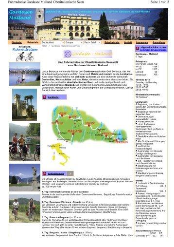 Gardasee - Mailand