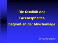 Qualität beginnt an der Mischanlage - Hüttermann - gussasphalt.de