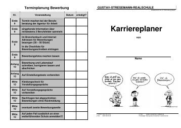 Karriereplaner - Gustav-Stresemann-Realschule-Duisburg-Startseite