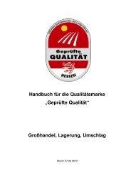 Handbuch Großhandel, Lagerung, Umschlag - Gutes aus Hessen