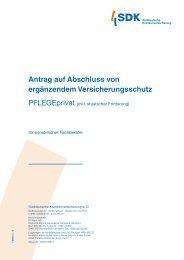 Versicherungsbedingungen (komplett) 01/2013 - Versicherungen für ...