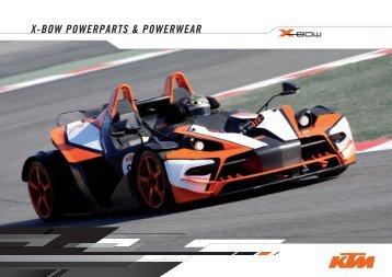 KTM X-BOW Powerparts