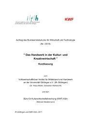 Kurzfassung der Studie - Handwerkskammer Aachen