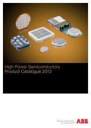 High Power Semiconductors Product Catalogue 2013 - GvA ...