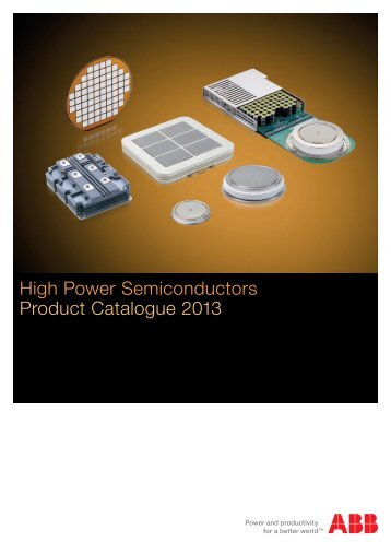 High Power Semiconductors Product Catalogue 2013 - GvA ...