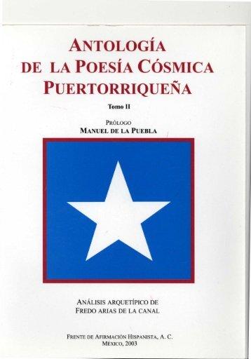 antología de la poesía cósmica puertorriqueña - Frente de ...