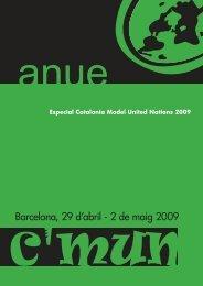 C'MUN 2009 - ANUE