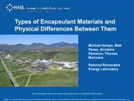Types of Encapsulant Materials and Physical Differences Between ...