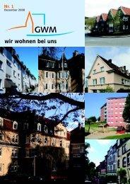 Wohnen in der Genossenschaft - GWM Wuppertal
