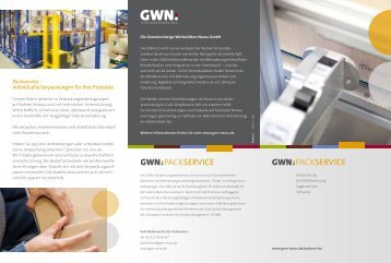 flyer pack - GWN