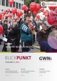 Blickpunkt | Ausgabe I 2013 - GWN