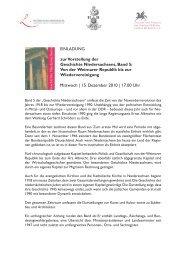 Mittwoch   15. Dezember 2010   17.00  Uhr - Gottfried Wilhelm ...
