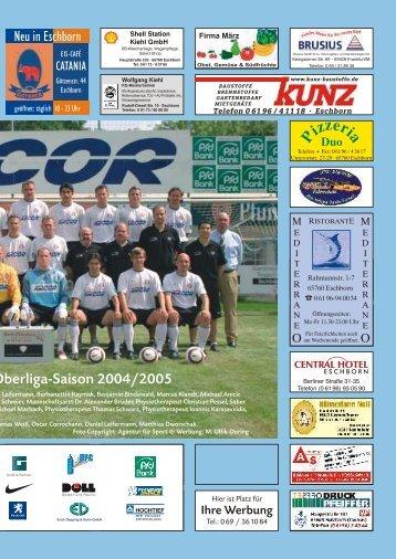 Anpfiff - 1. FC Eschborn