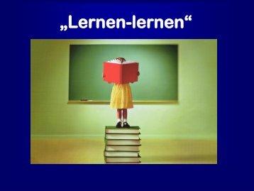 Warum Lernen lernen? - Gymnasium Dingolfing