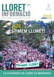 Núm. 87 - Ajuntament de Lloret de Mar