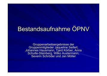 (Microsoft PowerPoint - Bestandsaufnahme ÖPNV fertig ...