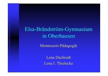 Elsa-Brändström-Gymnasium in Oberhausen
