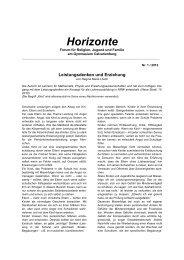 Horizonte - Website des Gymnasiums Calvarienberg