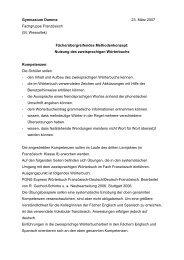 Wörterbuch - Gymnasium Damme