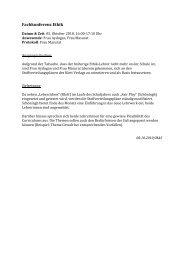Fachkonferenz Ethik - Gymnasium Dialog