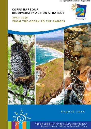 Biodiversity Action Strategy - Coffs Harbour City Council - NSW ...