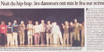 Nuit du hip-hop : les danseurs ont mis le feu sur scène