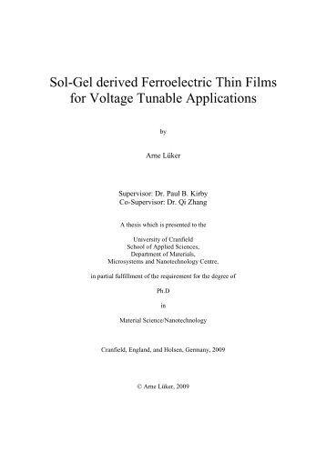Curtin university thesis