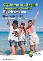 CQUniversity English Language Centre Rockhampton - Central ...