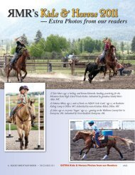 Online Pages 9-16 - Rocky Mountain Rider Magazine