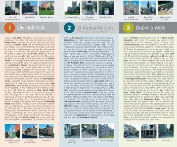 Walks through medieval Dublin with maps - Dublin City Council