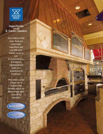 Deck Oven Brochure - Bakers Pride