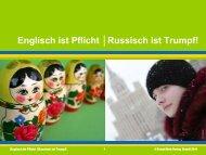 Russisch ist Trumpf - Ernst Klett Verlag