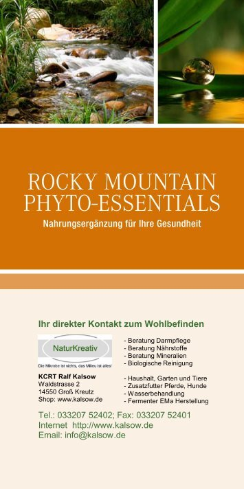 Rocky Mountain Phyto Essentials 670kB - KCRT Ralf Kalsow