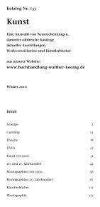 Kunst - Buchhandlung Walther König - Seite 3