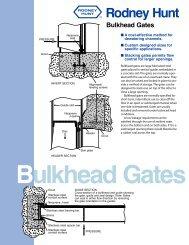 Bulkhead Gates.cdr - Rodney Hunt Company